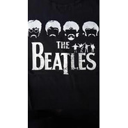 Camiseta Infantil Beatles Silhuetas Cibs001