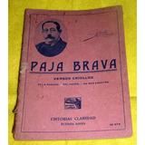 Paja Brava Versos Criollos De La Ramada Fogon De Mas Adentro