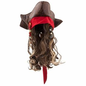 Sombrero Jack Sparrow Piratas Del Caribe Disney Entrega Inme