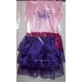 Disfraz Violetta Talles 0, 1, 2, 3,y 4