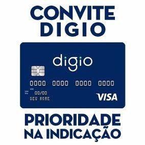 Convite Cartão Digio Visa - S/ Anuidade - Limite Alto