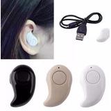 Mini Audifono Bluetooth S530 Manos Libres Llamadas Y Musica