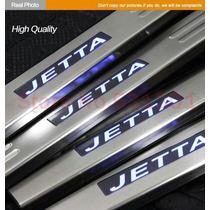 Estribera Jetta A4 Clasico Embellecedor Aluminio Led Mk4