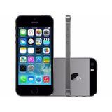Iphone 5s Apple 32gb Cinza Espacial Tela 4 Retina - Câmera