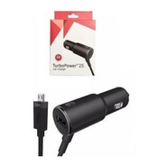 Carregador Veicular Motorola De Carro Turbo Power Cabo Usb
