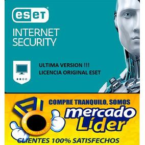 Eset Internet Security V11 2018 Para 1 Pc 2 Años Oferta