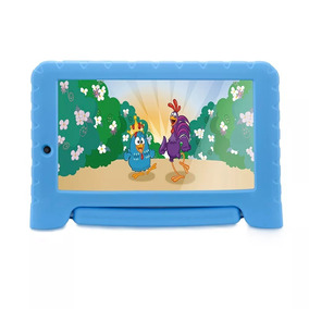 Tablet Infantil Galinha Pintadinha 8gb Wifi Azul Multilaser