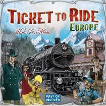 Ticket To Ride Europa - Juego De Mesa (aventureros Al Tren)