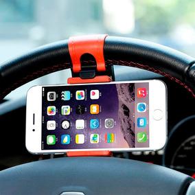 Soporte Universal Para Celular De Volante Uber Bici Auto Ay9