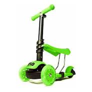 Monopatin Scooter Luz 720 3 En 1 Verde (no Envios)
