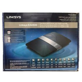 Roteador Linksys Ea4500 N900 Dual-band Gigabit Usb Wi-fi