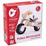 Moto Policia Para Armar Mader- Classic World- Giro Didactico