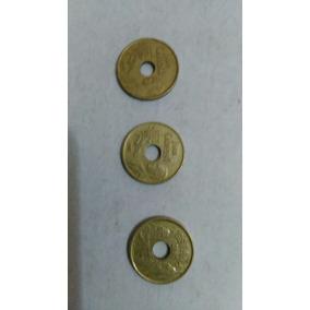 Moneda Lote X 3 España 25 Pesetas1992 Dos Y 1997