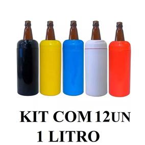 e7d67e1c1d5ab Porta Garrafa Termica Para Cerveja Litrao Budweiser - Casa