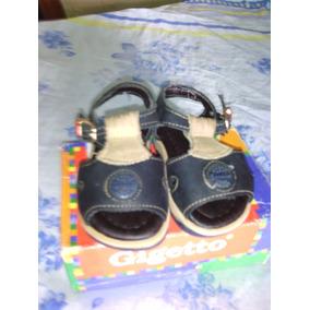Sandalias Para Bebe Gigetto.. Usadas Poco Tiempo.. Nro 17