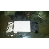 Play Station 2 Slim Chipeado Blanco