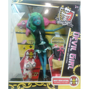 Barbie Muñecas Monster High Con Accesorios