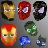Mascaras Led O Mascaras Con Luces Spiderman Hulk Ironman