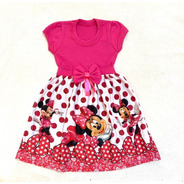 Vestido Minnie Rosa Roupa/fantasia
