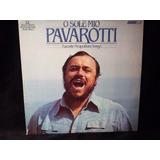 Vinilo Lp Luciano Pavarotti - O Sole Mio - Importado Usa