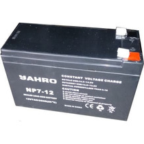Bateria Recargable 12 Volts 7 Amper Jahro, Nueva