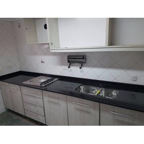 Mesada De Cocina Negro Brasil- Somos Fabricantes