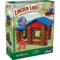 Lincoln Logs - Forja De Un Molino De Cabina - 51 Piezas - E