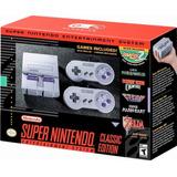 Super Clásico De Nintendo Edición Nintendo Snes Mini - 271
