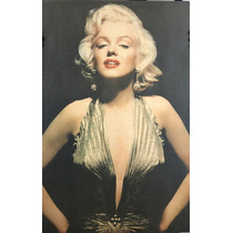 Marilyn Monroe Poster Vintage Foto Retro Pared