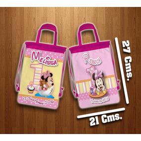 Morralitos Minnie Mouse Personalizados Dulceros Fiestas