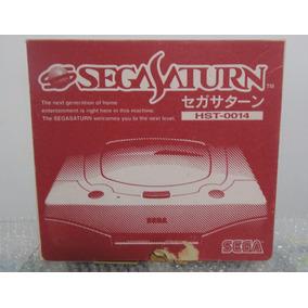 Sega Saturn Branco Japonês Na Caixa