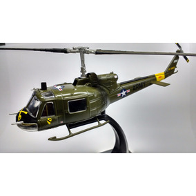 Miniatura Helicoptero Combate Bell Uh Iroquois Eua - Altaya