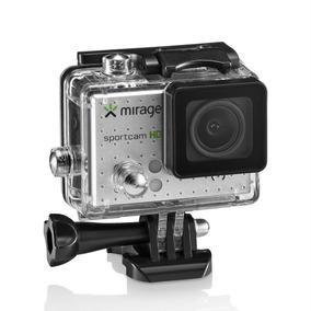 Câmera De Ação Sport 4k Usb Tela Lcd 2pol 16mp Mr3001 Mirage