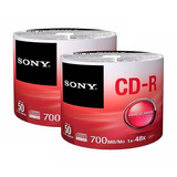 200 Discos Cd Sony 48x 700 Mb 80 Min 100% Original Eg