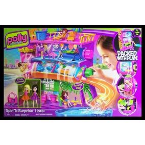 Hotel Polly Pocket Resort Cola E Descola - Mattel X1290