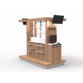 Isla para centro comercial en mercado libre m xico for Disenos de kioscos de madera