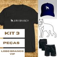 Kit 3 Peças Lobo Branco Vip Coleção 2022