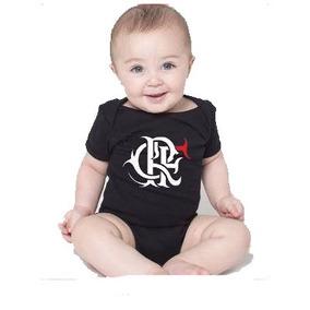 Body Bebe Times Flamengo Roupas Menino Menina