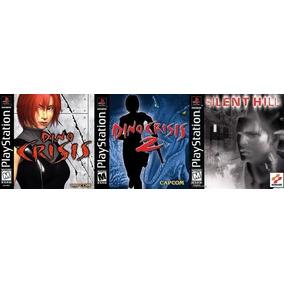[ps1] Dino Crisis 1 + 2 + Silent Hill Para Playstation 1