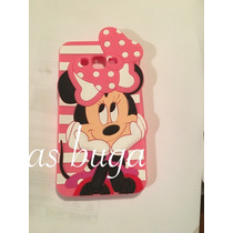 Funda Mimi J7 Samsung Galaxy Minnie Mouse Silicon Figura 3d