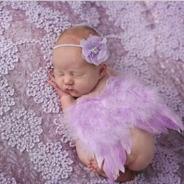Alas De Bebe Para Sesión De Fotos Disfraz. Recien Nacido