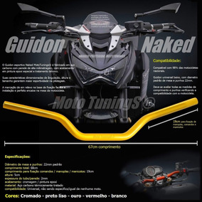 Guidon Guidão Tipo Oxxy Comet 250 650, Mirage 150 250 650 Cb