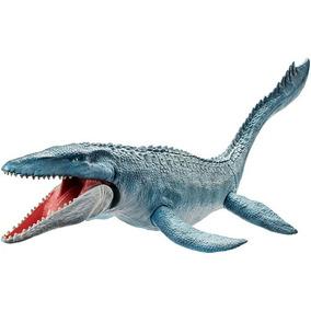 Jurassic World - Mosasaurus - Textura Real - 71cm - Mattel