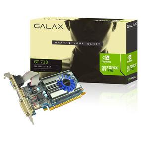 Placa De Vídeo Galax Geforce Gt 710 1gb Ddr3 64-bit
