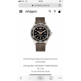 d51fae8fee1 Relógio Arpoador Hstern Unissex - Relógios no Mercado Livre Brasil