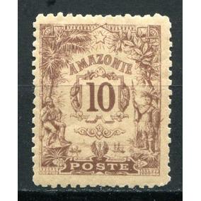 Amazonie - Counani - 10 Cêntimes - 1900 - Raríssimo