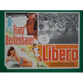 Franz Beckenbauer Libero Futbol Football Cartel De Cine 2