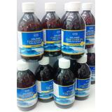 6 Botellas Aceite Higado De Bacalao Lysi Sabor Limón 300ml