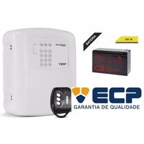 Kit Central Alarme Ecp Alard Max1 + Controle + Bateria