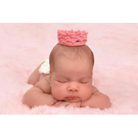 Coroas Em Crochê Newborn